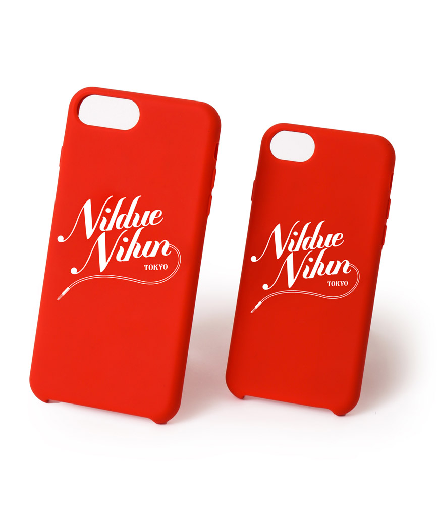 SILICON I PHONE CASE / RED