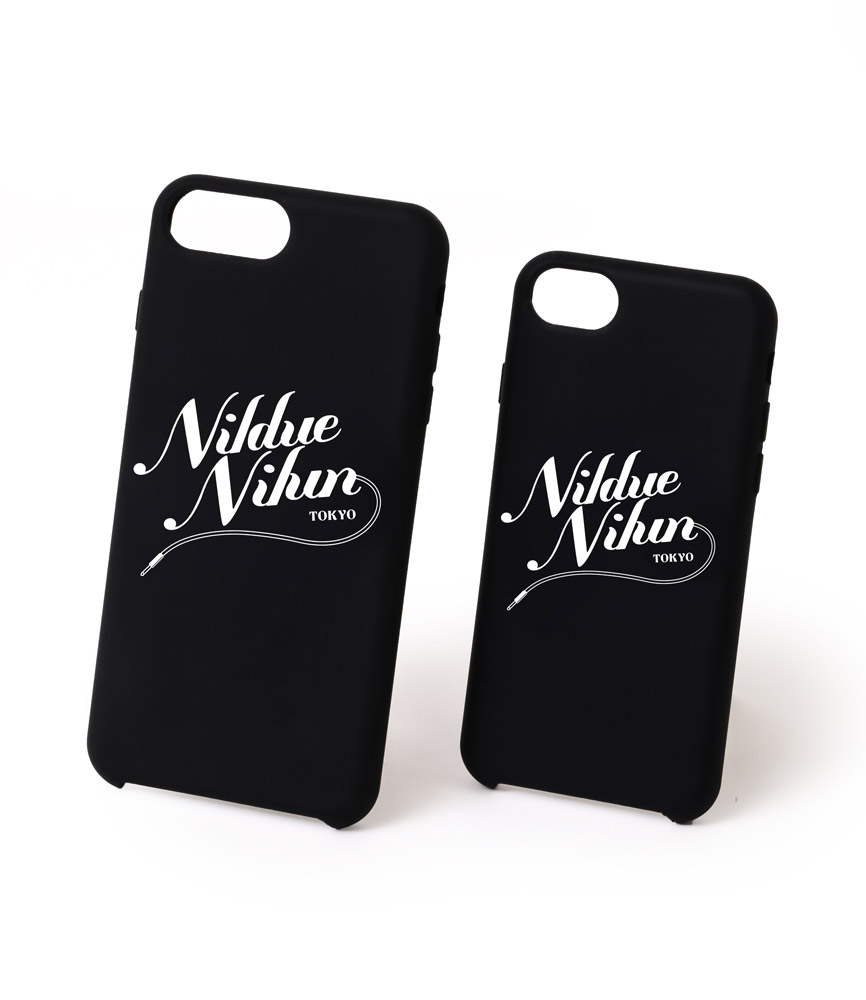 SILICON I PHONE CASE / BLK